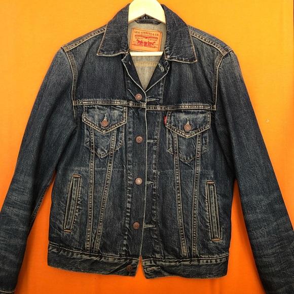 Levi's Men's Vintage Blue Denim Jacket Small